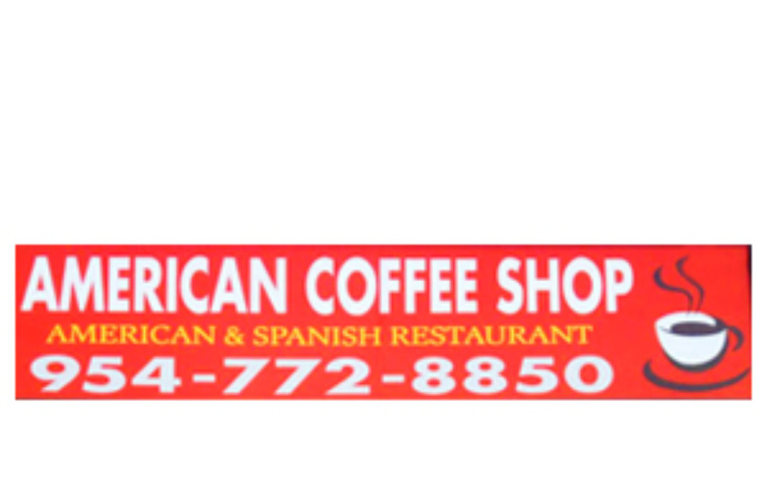 American Coffee Shop Feature Logo