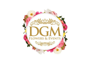 DGM Flowers Feature Logo