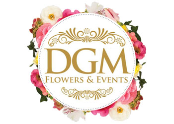 DGM Flowers Profile Logo